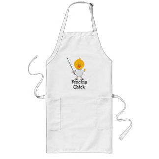 Fencing Chick Apron