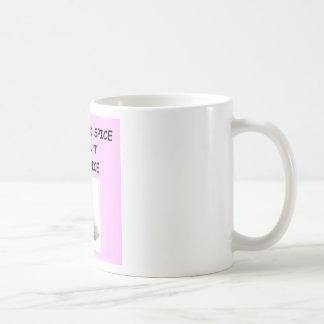 fencing classic white coffee mug
