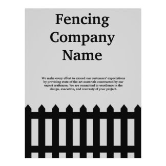 Fencing Company Business Flyer