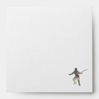 Fencing; Cool Black Envelope