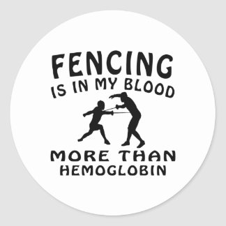 Fencing Designs Stickers