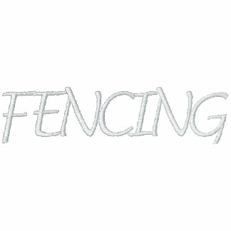Fencing Embroidered Hoody
