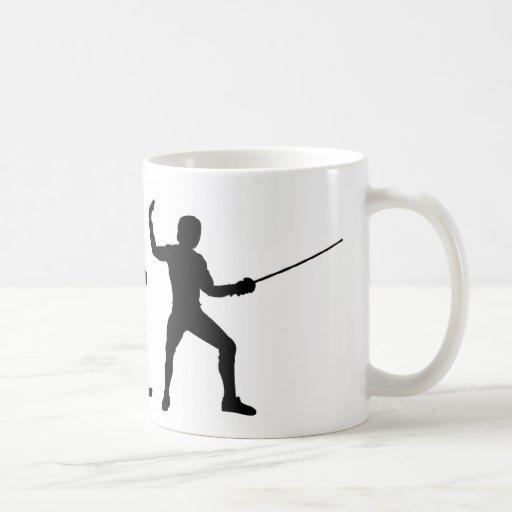 Fencing Evolution Coffee Mug