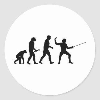 Fencing Evolution Stickers