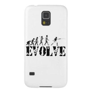 Fencing Fencer Epee Foil Sabre Evolution Sport Art Galaxy S5 Case
