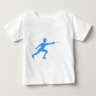 Fencing Figure - Baby Blue Shirts