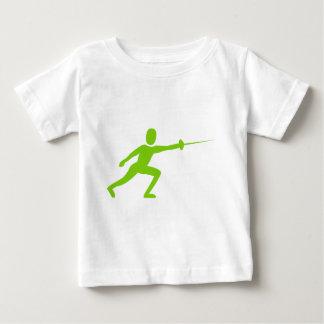 Fencing Figure - Martian Green Shirt