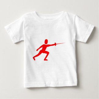 Fencing Figure - Red T-shirts