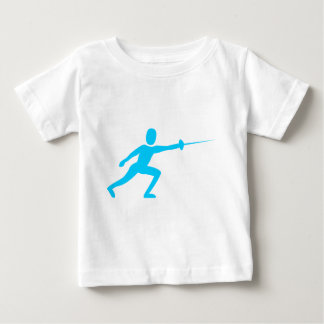 Fencing Figure - Sky Blue Shirt