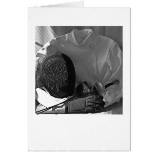 Fencing Gear Card