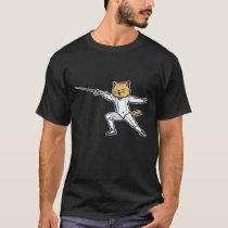 Fencing Gift Sabre Sword Foil Martial Arts T-Shirt