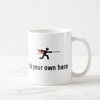 Fencing Hero Coffee Mug