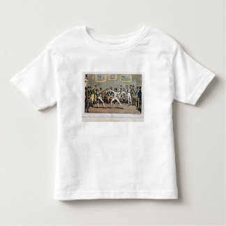 Fencing: Jerry's admiration of Tom in an `Assault' T Shirt
