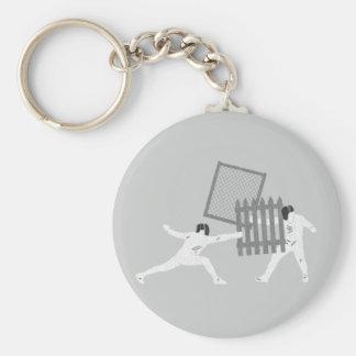Fencing Keychain
