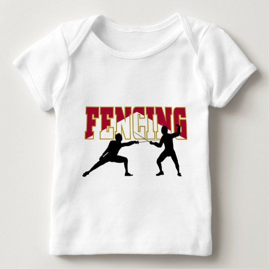 Fencing Match Baby T-Shirt