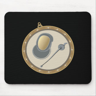 Fencing Medal Mouse Pad