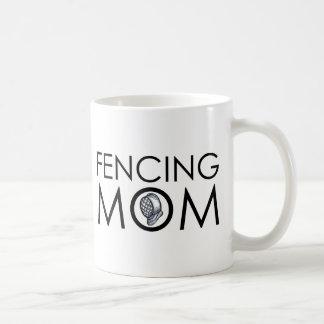 Fencing Mom Coffee Mug