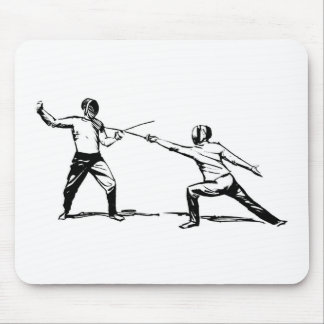 Fencing Mouse Pad