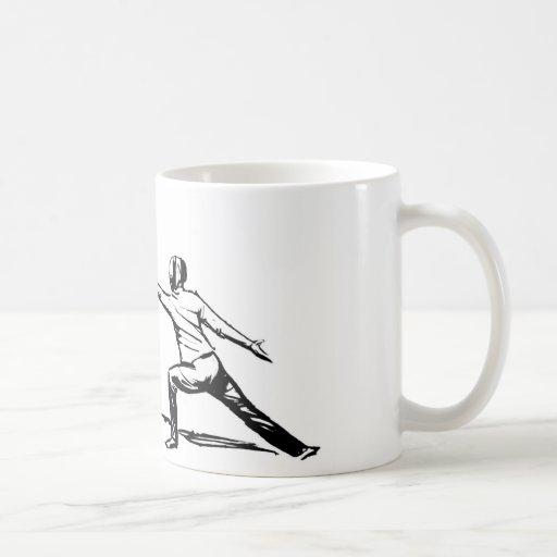 Fencing Coffee Mugs