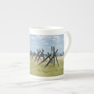 Fencing on Rocky Mountain Front Mug