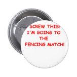 fencing pins