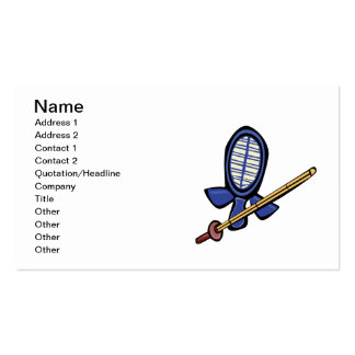 Fencing Practice Business Card
