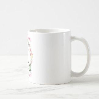 Fencing Princess Floral Foils Coffee Mug
