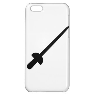 Fencing saber iPhone 5C cases