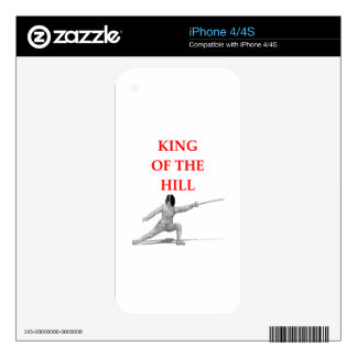 fencing decal for iPhone 4S