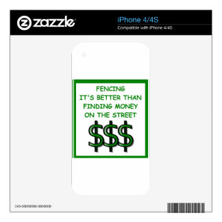 fencing skins for the iPhone 4S