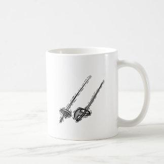 Fencing Swords Coffee Mug
