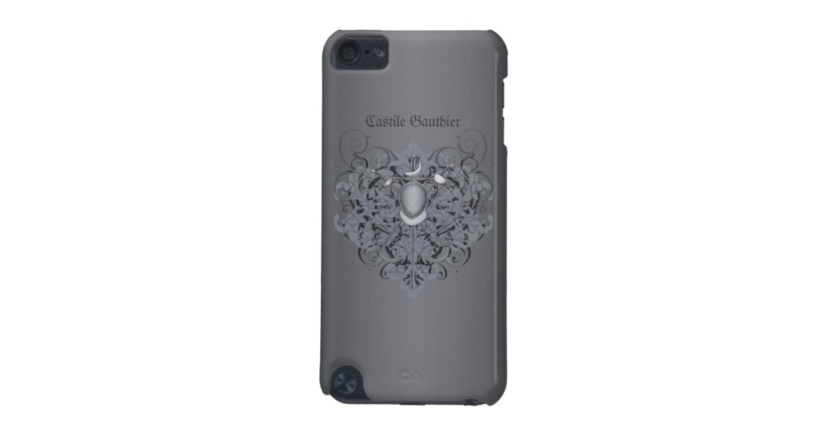 competitive price a8cc0 46289 Fencing Swords Foil Epee Sabre Black iPod Touch iPod Touch (5th Generation)  Case | Zazzle.com