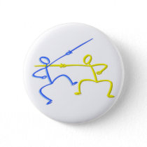 Fencing T-shirts and Gifts. Button