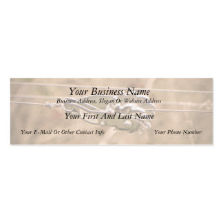 Fencing the Back Forty Business Card Templates