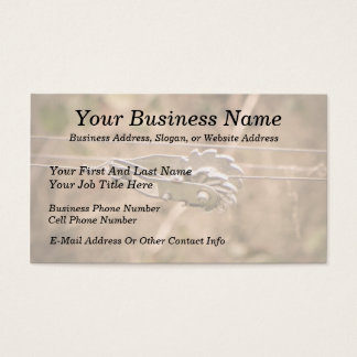 Fencing the Back Forty Business Card