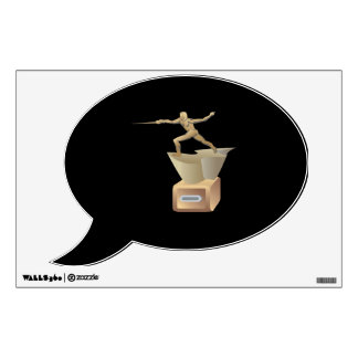 Fencing Trophy Wall Decal