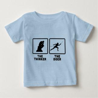 Fencing Infant T-shirt