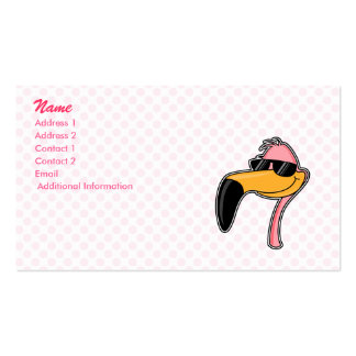 Fender Flamingo Double-Sided Standard Business Cards (Pack Of 100)