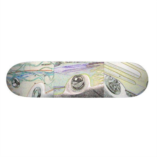 Fenders and Flames Skateboard