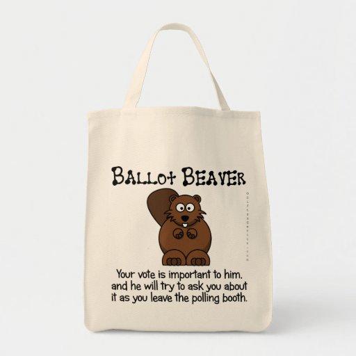 Fending off ballot chasers bag