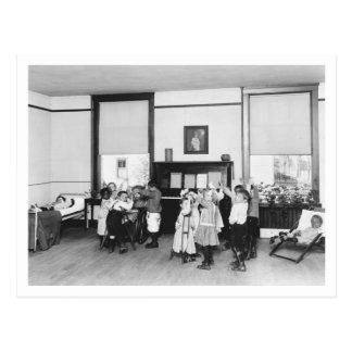 Fending Off Tuberculosis, 1920s Postcard