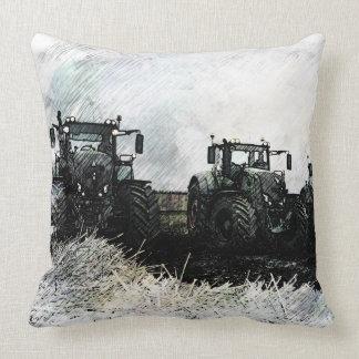 Fendt Tractors Throw Pillow