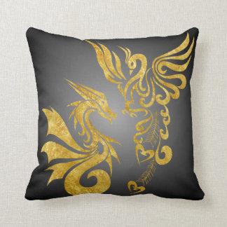 Feng reversible Shui Phoenix y dragón Cojines