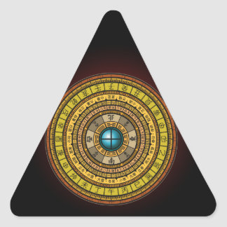 feng shui 1 triangle sticker