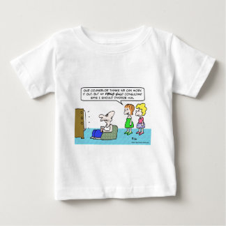 Feng Shui advisor recommends divorce. Baby T-Shirt