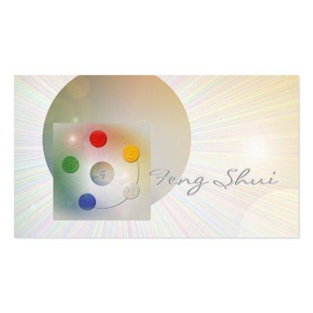 Feng Shui Business Card Templates