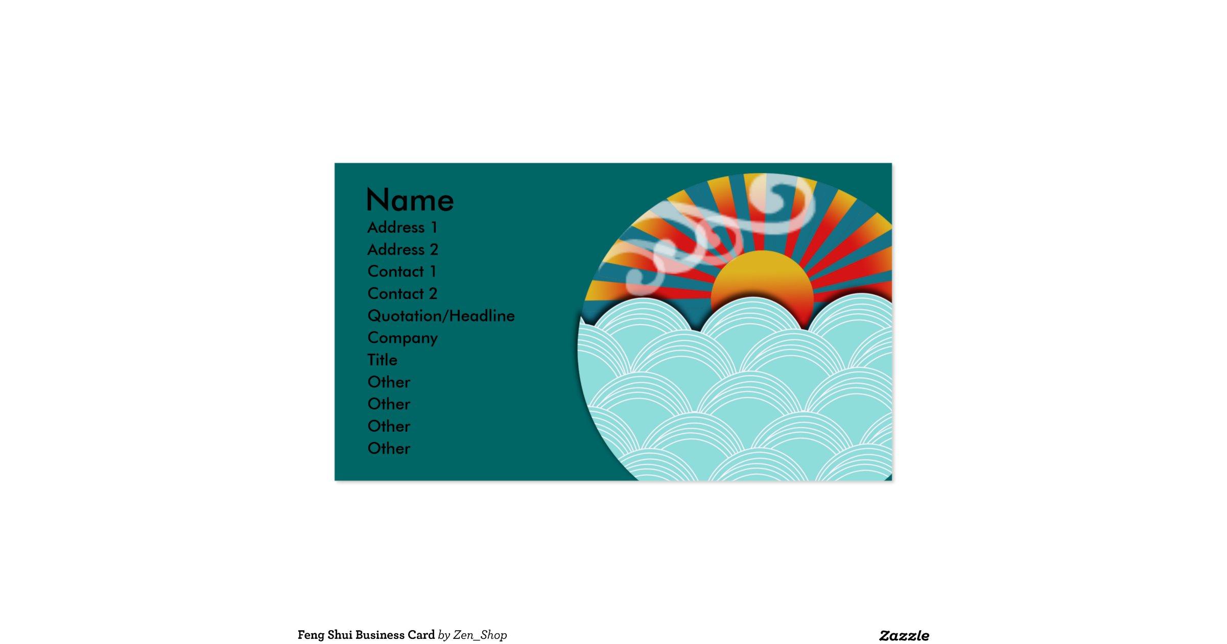 Feng shui business card r9e64b2ddac8d4b6a86acbd254a014cf0 for Feng shui business cards