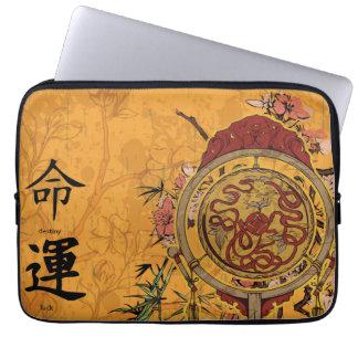 Feng Shui Destiny & Luck Laptop Computer Sleeve