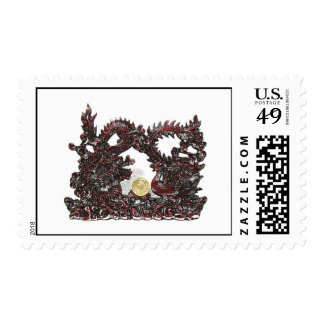 Feng Shui Dragon & Phoenix Postage