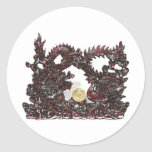 Feng Shui Dragon & Phoenix Stickers